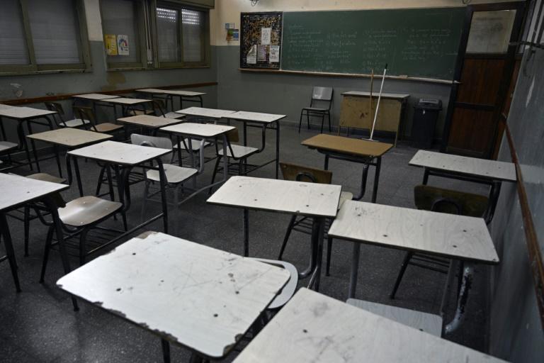 Suspensión de clases en Buenos Aires en medio de una guerra judicial