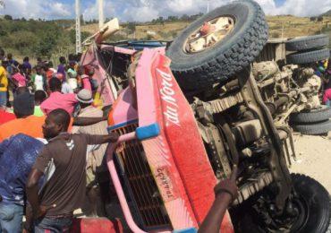 21 fallecidos y 30 heridos en accidente de tránsito en Haití