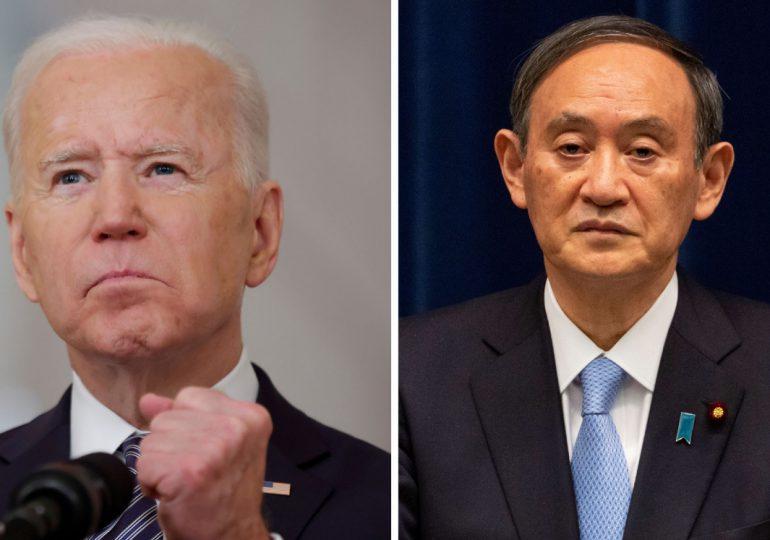 Primera cumbre de Biden con primer ministro japonés, con la mirada en Pekín