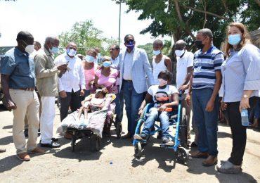 Comedores Económicos mantiene asistencia alimenticia a favor de damnificado de incendio en La Ciénaga