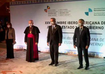 Presidente Abinader participa en la ceremonia inaugural de la Cumbre Iberoamericana de Jefes de Estado