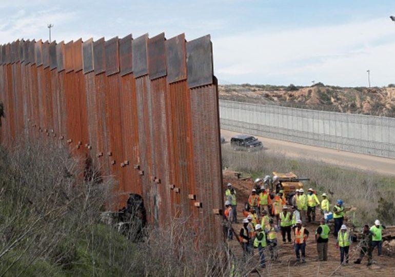Pentágono cancela proyectos de construcción de muro en frontera EEUU-México