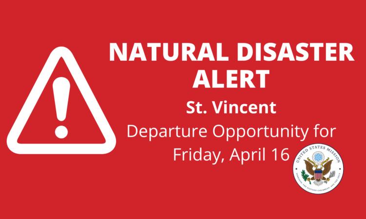 Alerta de seguridad: Realizan evacuación marítima en San Vicente y las Granadinas