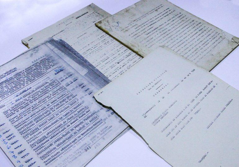 Donan al AGN documentos de procesos judiciales relativos al ajusticiamiento de Trujillo