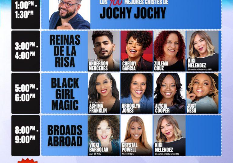 Filmarán en Punta Cana Stand Up Comedy ¡El poder de las mujeres en la comedia!
