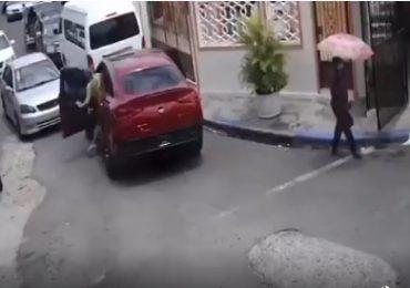 VIDEO   Conductores se entran a tiros frente a residencia de diputado por no ceder el paso