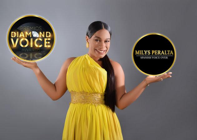 Milys Peralta, reconocida en los  Diamond Voice Awards 2021