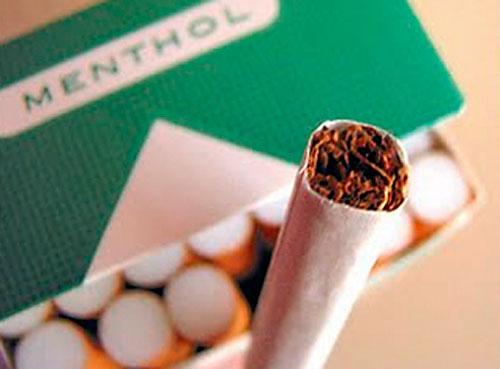 EEUU se compromete a prohibir los cigarrillos mentolados