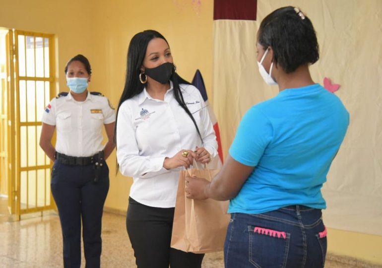 SMA Group realiza donativos a mujeres privadas de libertad junto al Ministerio de la Mujer