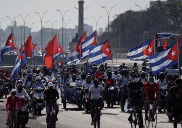 Cuba protesta con regata por sanciones de EEUU en medio de covid-19