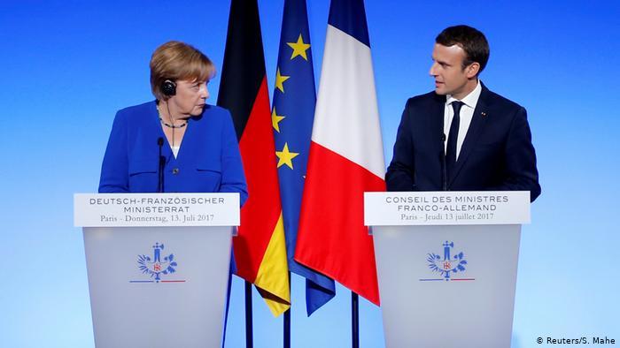 Macron y Merkel esperan explicaciones de EEUU por espionaje a aliados europeos