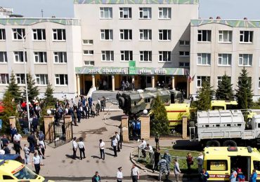 Al menos 7 muertos en un tiroteo en una escuela de Rusia