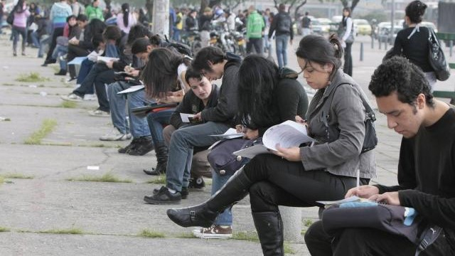 Desempleo urbano en Colombia se ubica en 17,4% en  abril