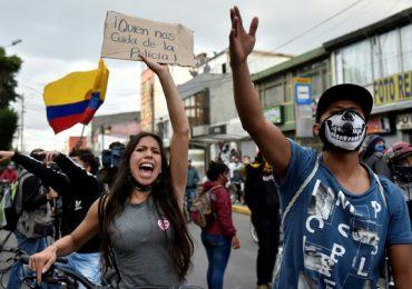 Protestas contra violencia policial desatan caos al sur de Colombia