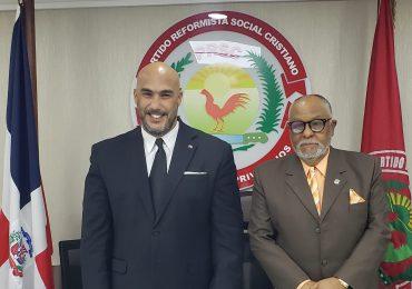 Dirigente político del PRSC visita el Congreso Nacional y sus diferentes bloques legislativos