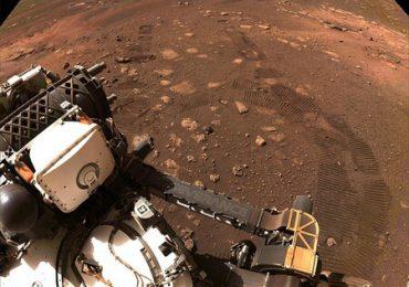 El Perseverance capta el sonido del vuelo del helicóptero Ingenuity en Marte