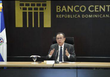 Economía dominicana creció un 47.1 % en abril, informa gobernador del Banco Central