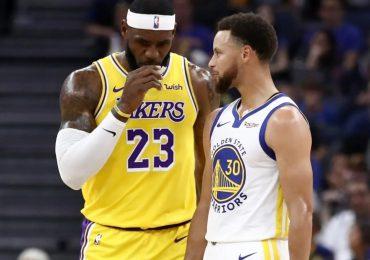 Lebron James y Stephen Curry podrían enfrentarse en un partido épico