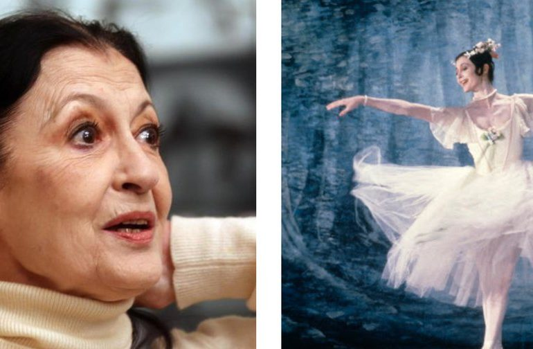 Muere la célebre bailarina italiana Carla Fracci
