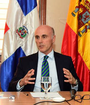 Embajador de España en RD califica de exitosos encuentros de Abinader con empresarios españoles