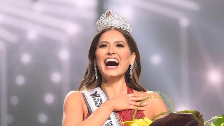 Una corona con 1,725 diamantes se lleva la nueva Miss Universo 2021, Andrea Meza