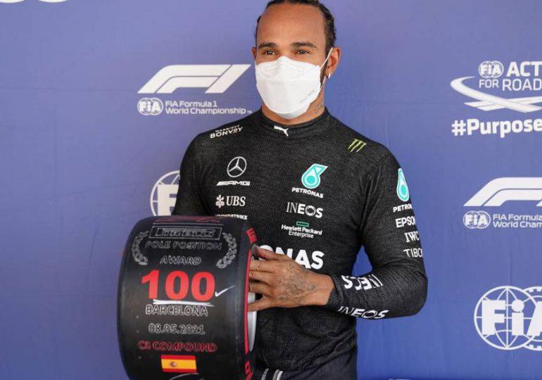 Lewis Hamilton firma su 100ª pole position en el GP de España