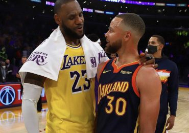 Lebron James y Lakers superan  a Curry y Golden State