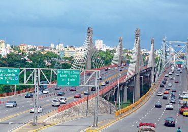 Conozca las rutas alternas por trabajos de mantenimiento en el puente Juan Bosch