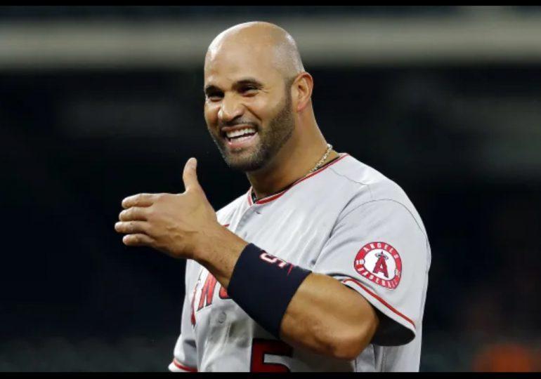 Pujols acuerda con los Dodgers un contrato por el resto de la temporada de Grandes Ligas