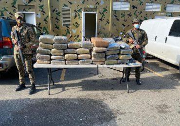 Fiscalía de San Juan solicitará coerción contra oficial de la DNCD transportaba marihuana