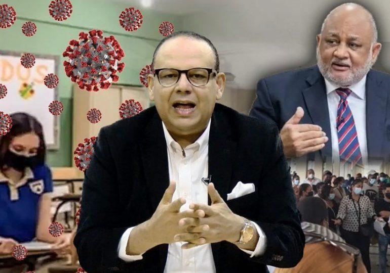 FJT implora al ministro de educación desistir de clases presenciales en medio de pandemia