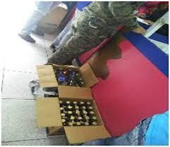 MP incauta cajas de bebidas alcohólicas adulteradas en un supermercado en Santiago Rodríguez