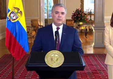 Ivan Duque ofrece 10 millones de pesos a quien informe sobre autores de actos vandálicos en cualquier lugar de Colombia