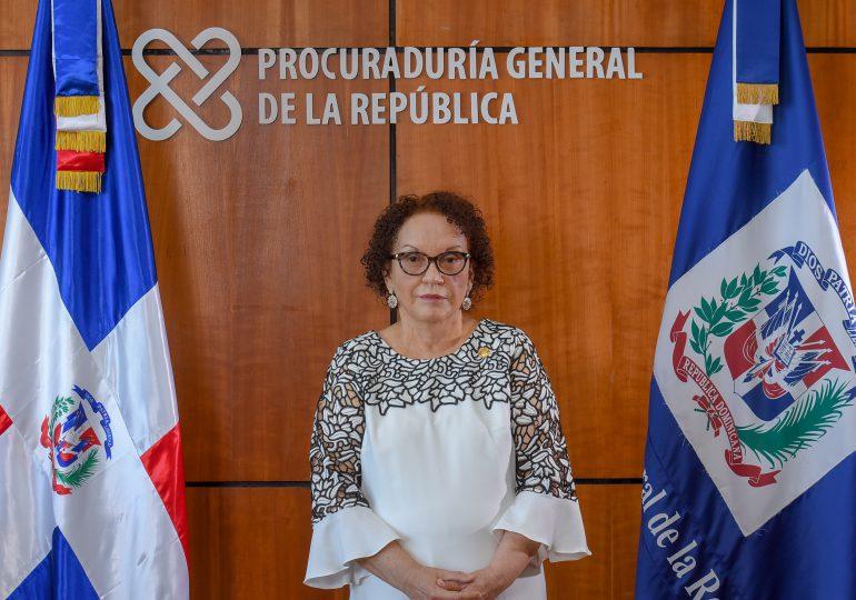 Miriam Germán aclara no pretende participar en investigación que involucre a Jean Alain Rodríguez