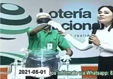 Lotería Nacional realiza rueda de prensa para explicar sobre video circula en redes