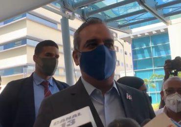 VIDEO | Abinader admite hay un rebrote COVID-19 en el Gran Santo Domingo