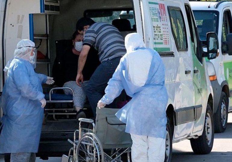 Más de 35.000 casos y 745 muertes, récord en un solo día en Argentina