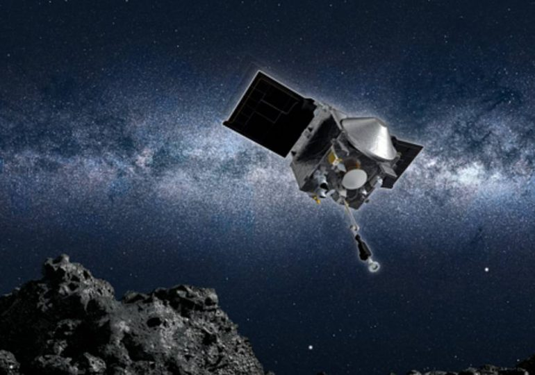 Sonda Osiris-Rex, de EEUU, emprende regreso con polvo de asteroide
