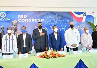 País Posible se aboca a restructuración profunda con la celebración del Congreso María Trinidad Sánchez