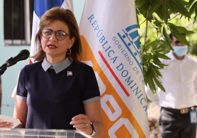 Vicepresidenta dice gobierno de Abinader está comprometido con el desarrollo de Baní