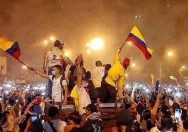 En videos, lo que sucede en Colombia