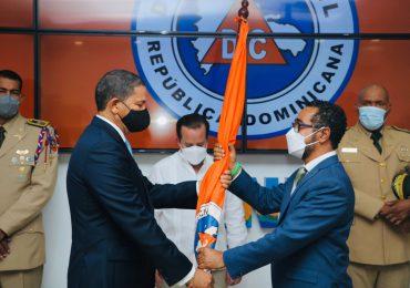 Juramentan nuevo director ejecutivo de la Defensa Civil