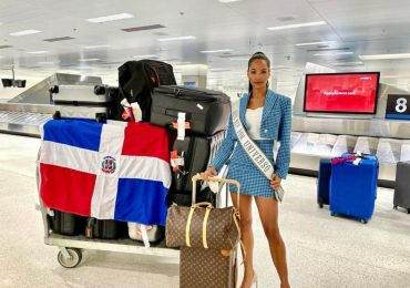 Kimberly Jiménez llega a Miami en busca de la corona en el Miss Universo
