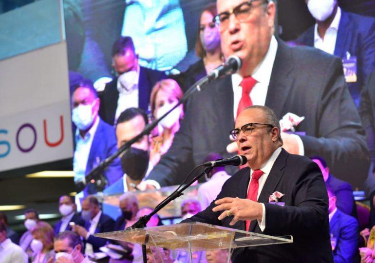 Charlie Mariotti agradece apoyo de Bichara y Navarro, tras ser electo secretario general del PLD
