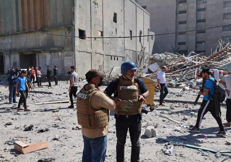 Los medios de comunicación, atrapados en la escalada de violencia entre Hamás e Israel