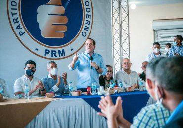"""PRM se reúne con dirigencia provincial y dar a conocer campaña """"Contigo Somos Mejores"""""""