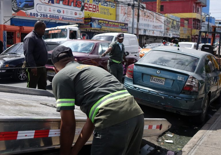 Digesett realiza jornada de retiro de chatarras en Santo Domingo Este