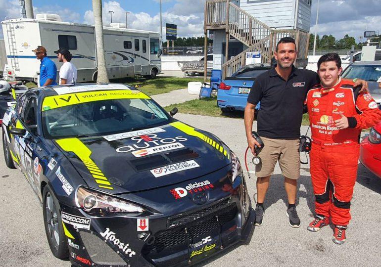 Jimmy Llibre gana el primer lugar en el Palm Beach International Raceway