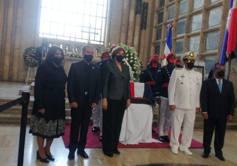 El héroe nacional Gregorio Urbano Gilbert, fue exaltado al Panteón de la Patria este domingo
