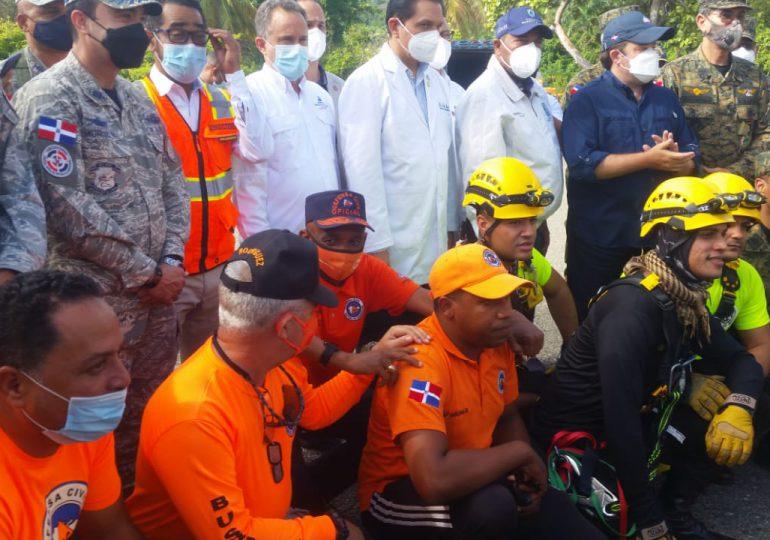 Abinader reconocerá a rescatistas de Puerto Plata por su gran labor, informa José Paliza